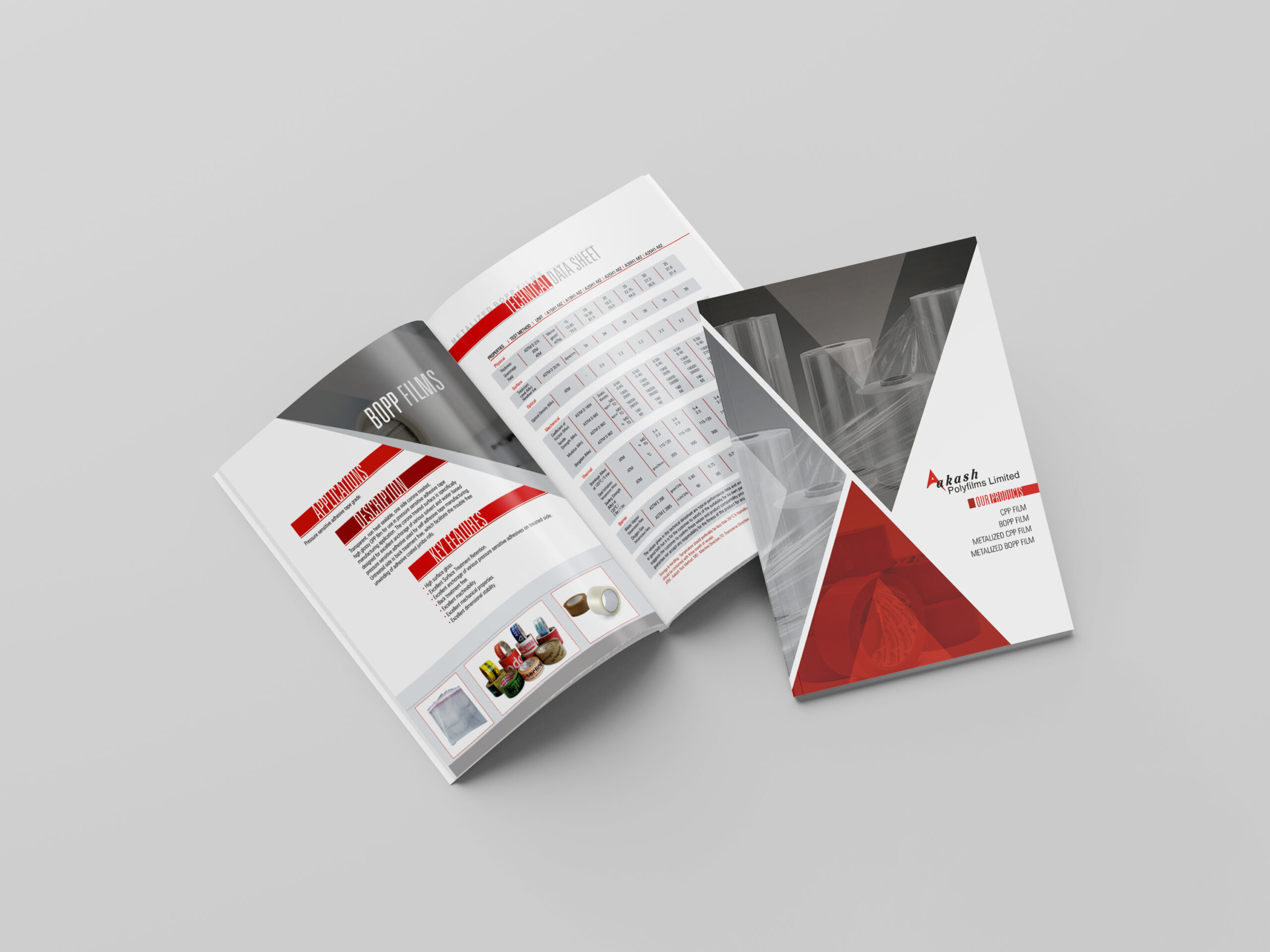 I will make a professionally, corporate brochure and flyer, FiverrBox