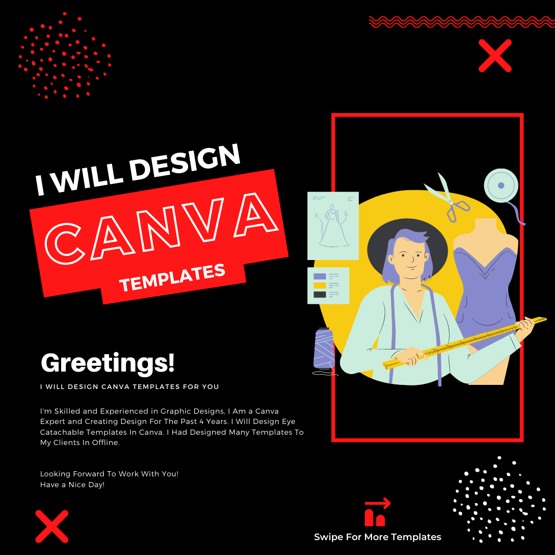 I will design canva instagram posts and stories, FiverrBox