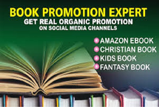 I will promote your book, ebook or kindle to go viral, FiverrBox
