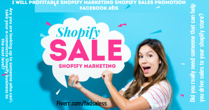 I will do sales shopify marketing promotion shopify traffic, FiverrBox