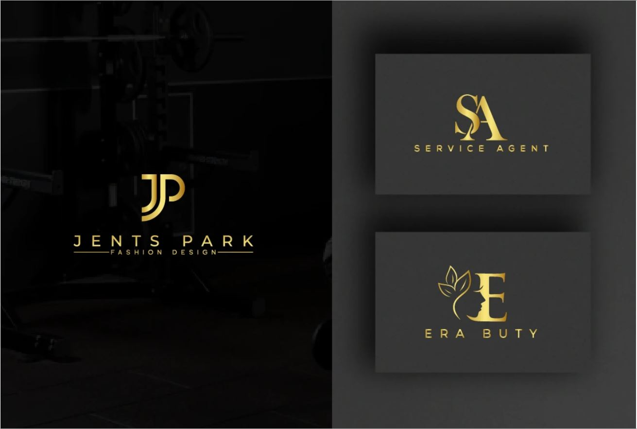 I will do attractive trendy timeless initial letters logo design, FiverrBox