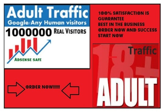 I will 500k adult web traffic onlyfans promotion adult promotion, FiverrBox