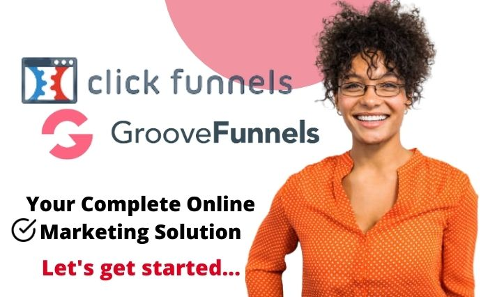I will setup groove funnel landing page groovekart groovepage and clickfunnels, FiverrBox