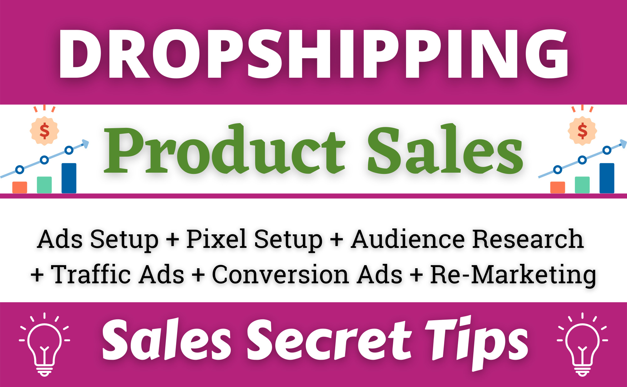 I will setup shopify facebook ads campaign for dropshipping product sales, FiverrBox