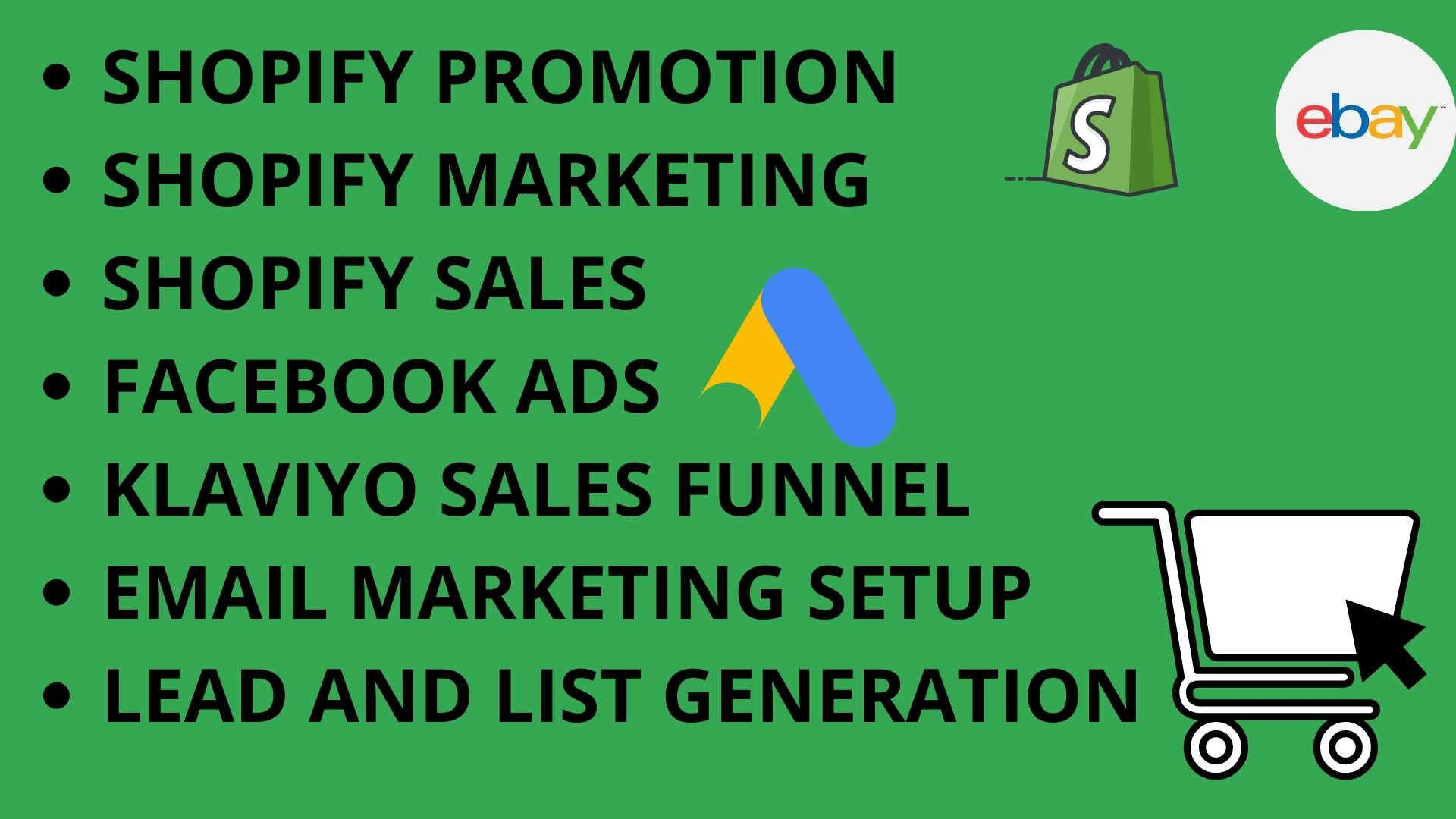 I will create impressive shopify SEO, shopify sales marketing for shopify sales, FiverrBox