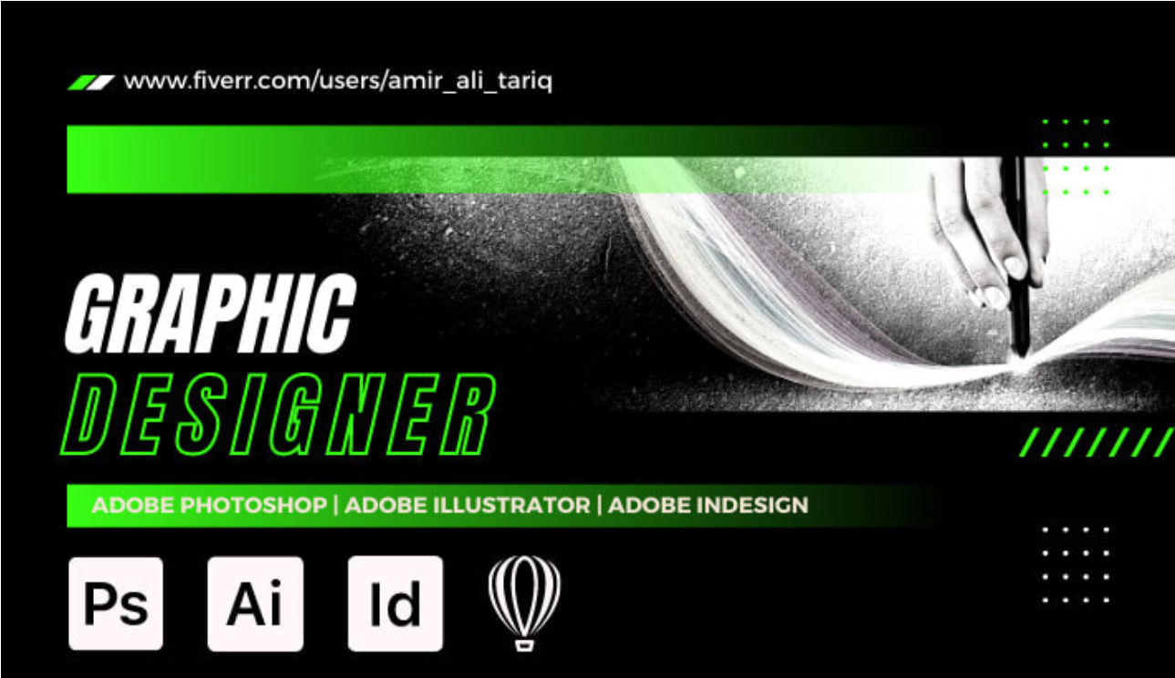I will do graphic designing in photoshop and coreldraw, FiverrBox
