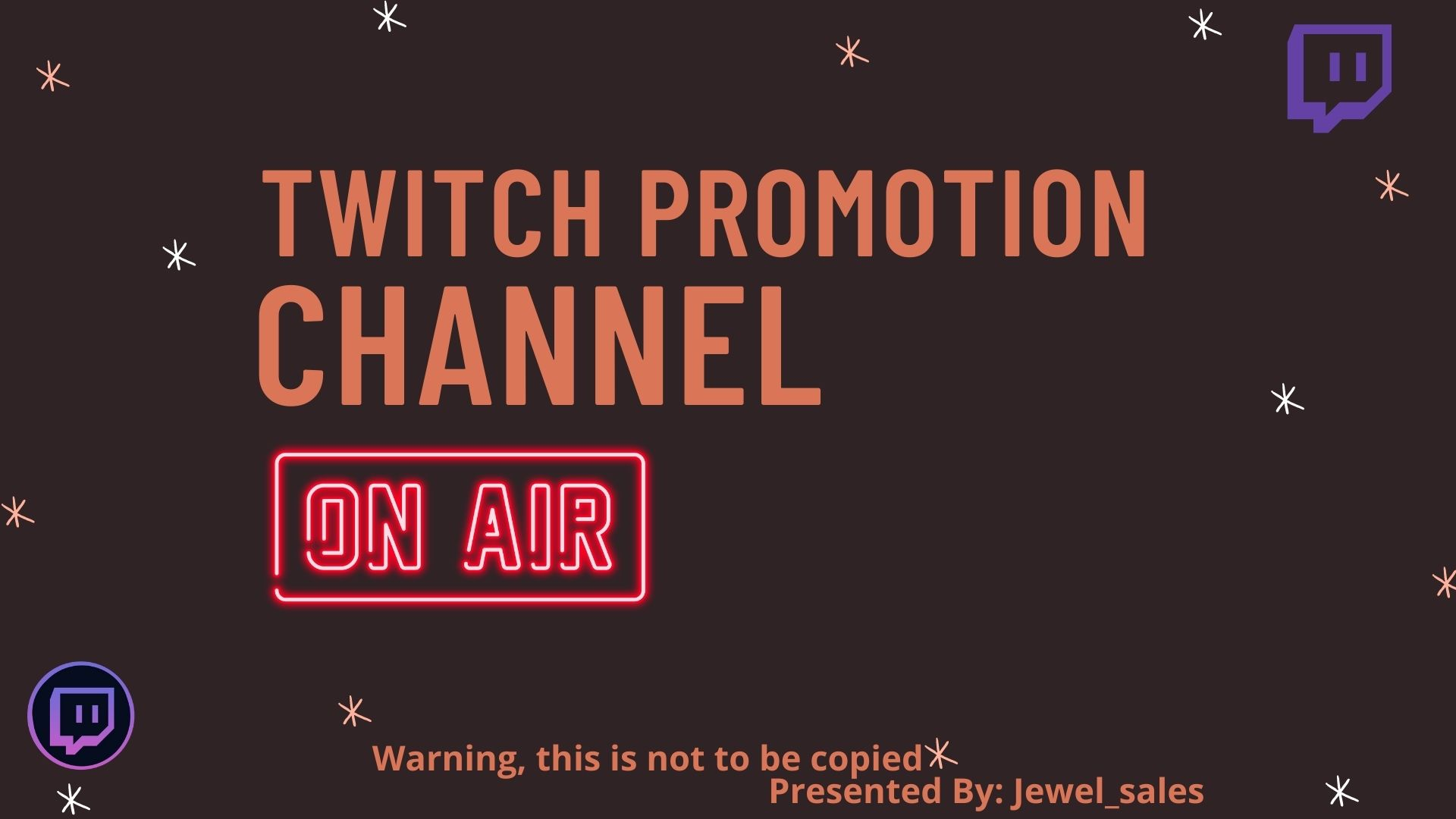 I will do twitch promotion and twitch growth for your twitch channel, FiverrBox
