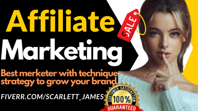 I will do amazon affiliate marketing, teespring, redbubble, clickbank etsy promotion, FiverrBox