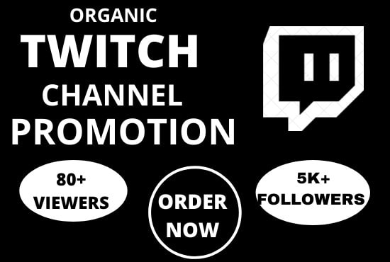 I will promote your twitch channel to USA gaming community, FiverrBox