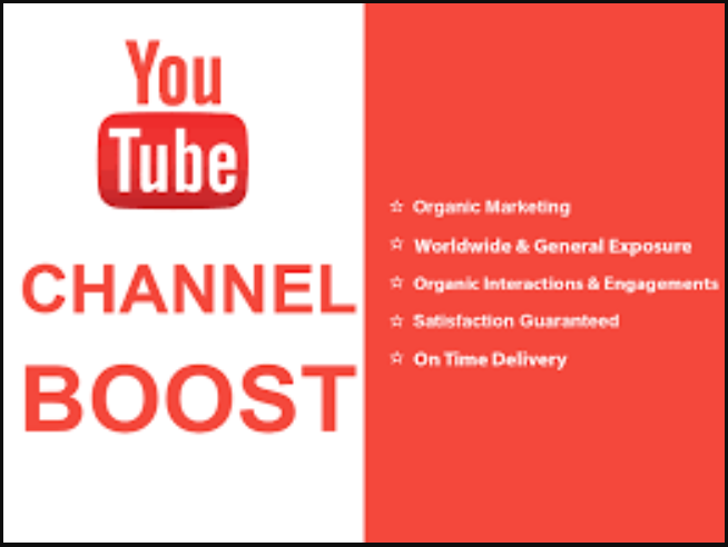 I will do high conversion rate for your youtube channel promotion, FiverrBox