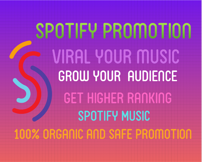 I will do best organic spotify promotion, FiverrBox