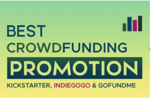 I will do crowdfunding campaign promotion of kickstarter, gofundme, FiverrBox