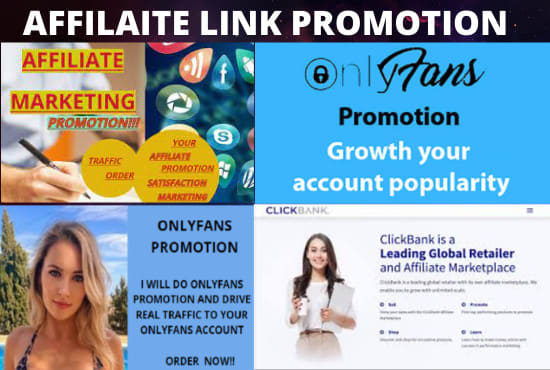 I will drive traffic to onlyfans page, affiliate, clickbank store, FiverrBox
