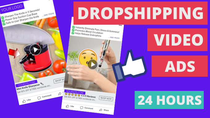 I will manage your shopify sales boosting shopify facebook dropshipping ads sales, FiverrBox