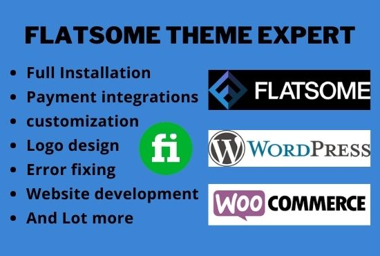 I will install and customize your woocommerce website with flatsome theme on wordpress, FiverrBox