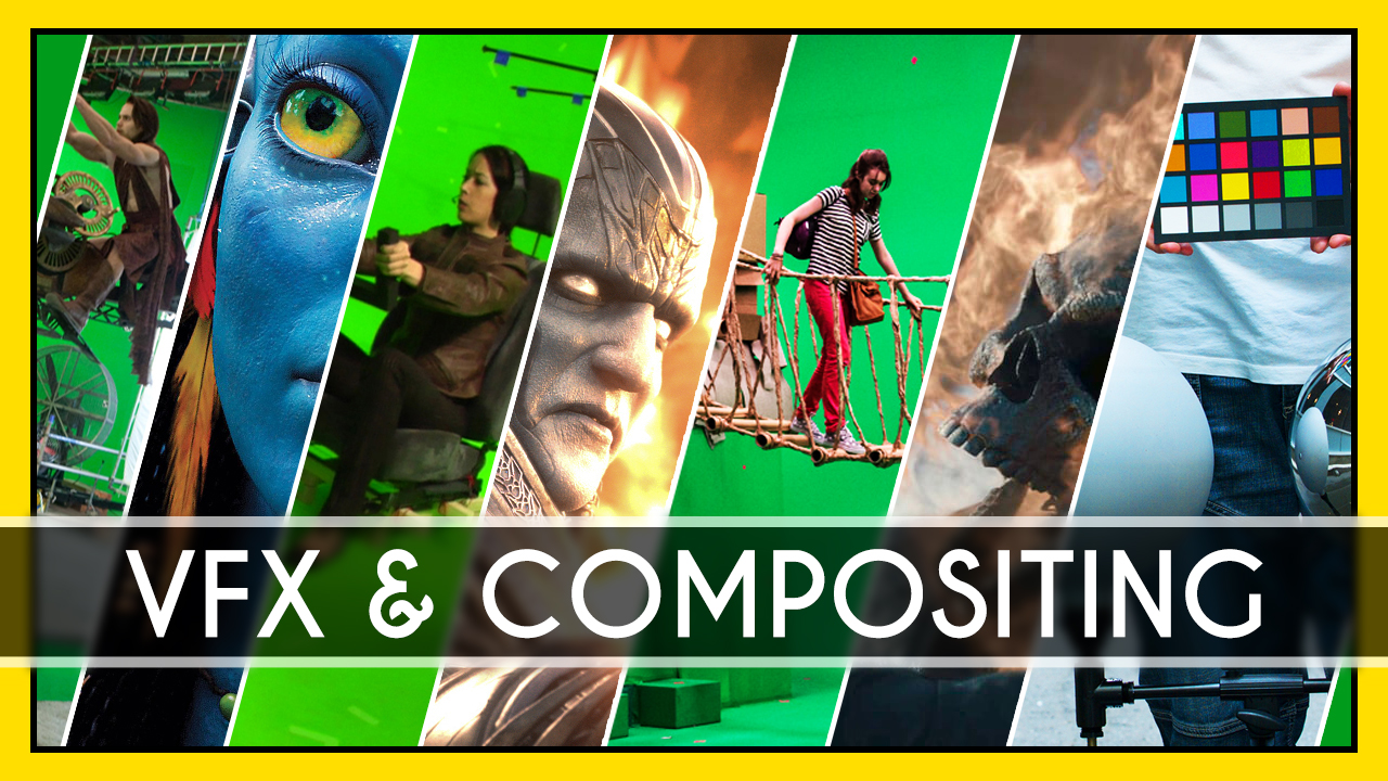I will do professional vfx visual effects compositing, FiverrBox