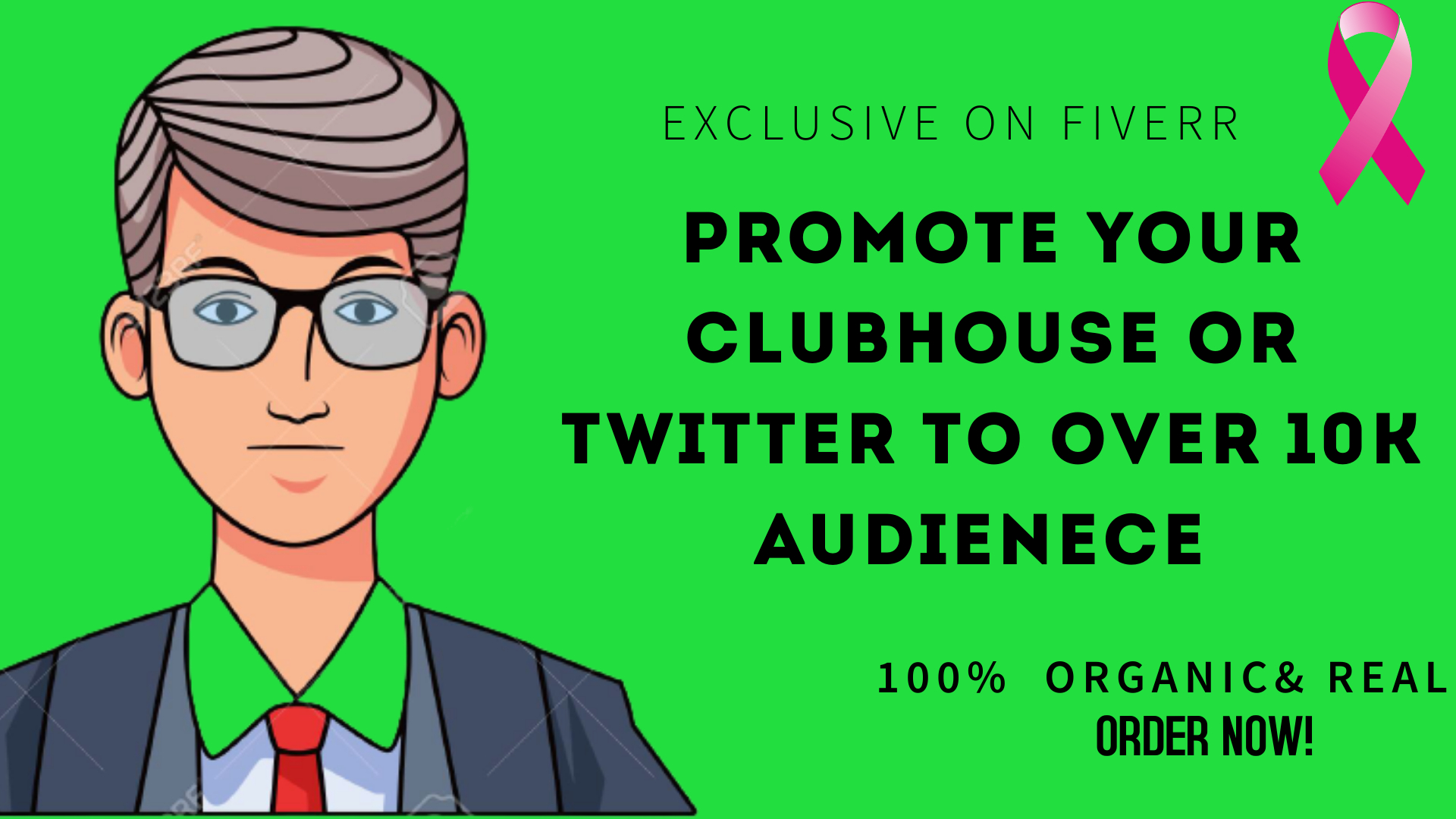 I will promote your clubhouse or twitter to over 10k audience, FiverrBox