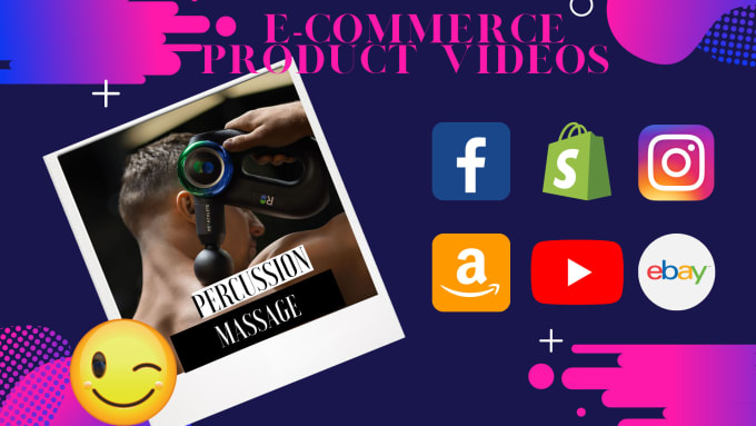 I will create an ecommerce product video for your store, FiverrBox