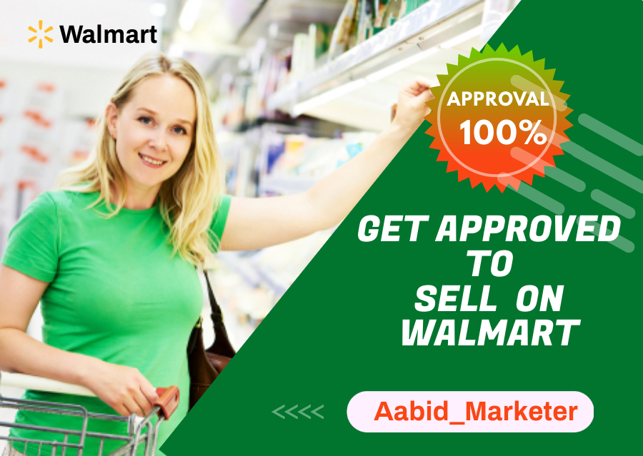 I will guaranteed approve your walmart seller store, FiverrBox