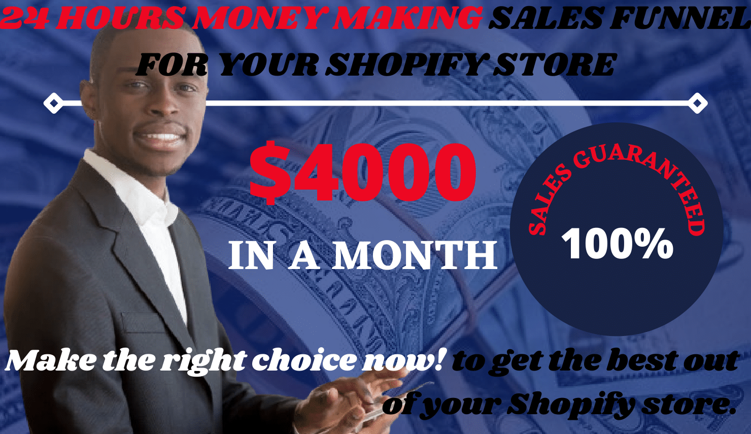 I will build clickfunnel sales funnel for shopify marketing sales funnel, FiverrBox
