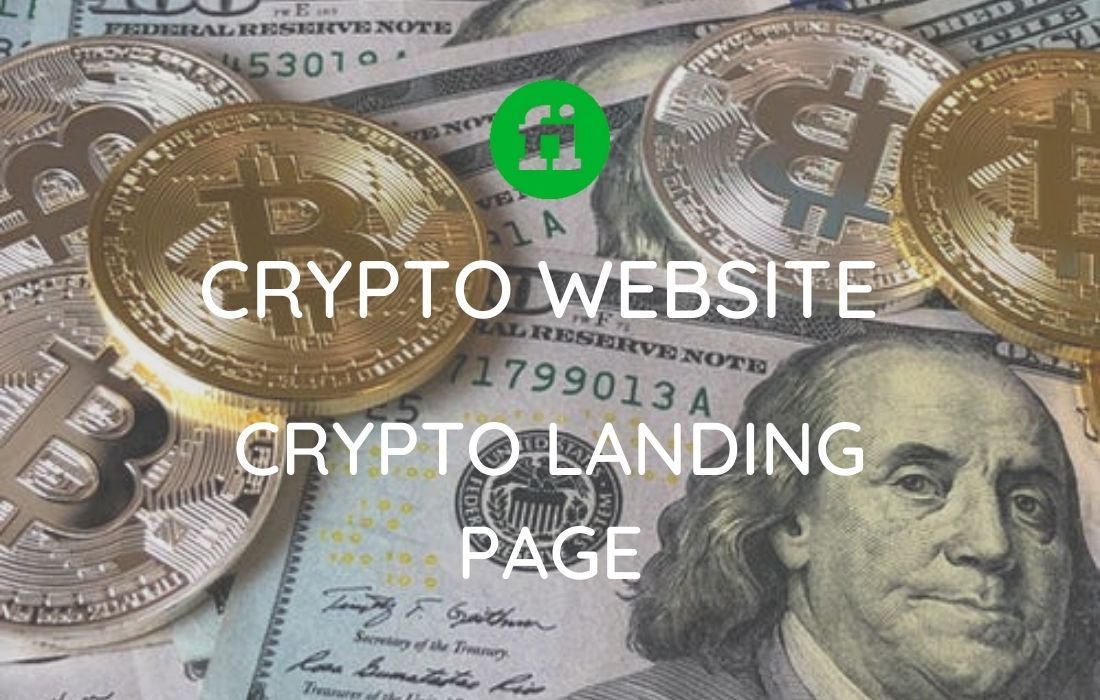 I will design crypto landing page, crypto website, ico website, FiverrBox