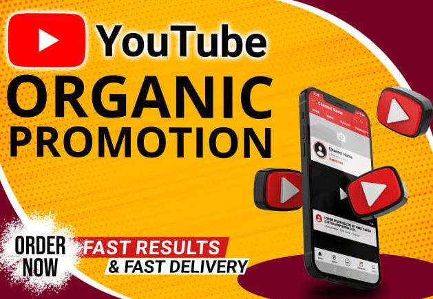 I will do organic youtube promotion review growth to increase subscribers, FiverrBox